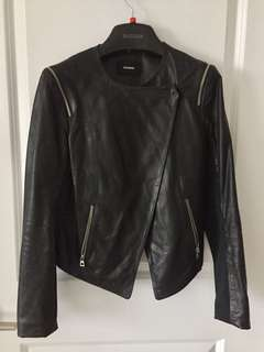RUDSAK women's leather jacket
