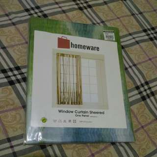 SM Home world curtain 2 pcs