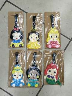 Disney Princess Bag Tags