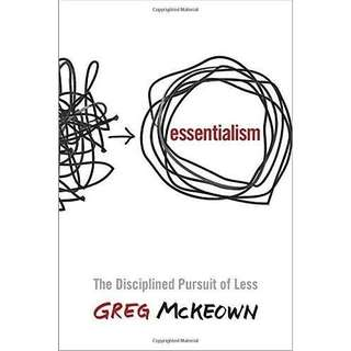 eBook - Essentialism: The Disciplined Pursuit of Less by Greg McKeown
