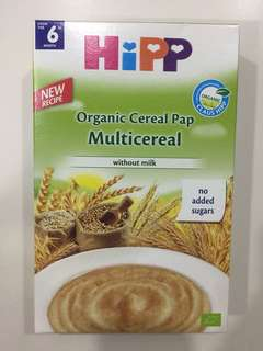 HIPP Organic Cereal Pap Multicereal