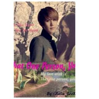 Ebook That One Person, You - Aulia SeoKyu