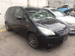 Mitsubishi colt plus scraping sales