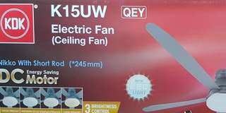 KDK Ceiling Fan with LED Light