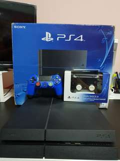 1TB JETBLACK Playstation 4 console