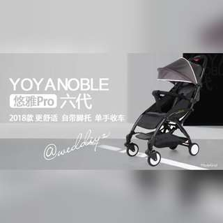 Yoya Noble Stroller series 6 2018 Light weight 5.8kg close in 3sec
