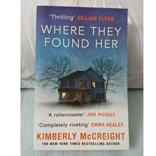 Where They Found Her (Kimberly McCreight)