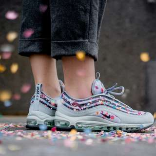 "Authentic NIKE AIR MAX 97 ULTRA '17 PREMIUM W ""Confetti"""