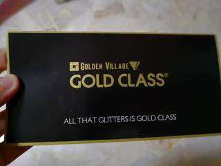 GV Gold Class Tickets
