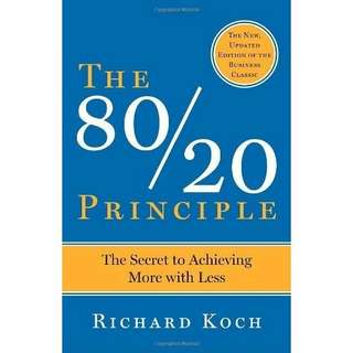 eBook - The 80/20 Principle: The Secret of Achieving More With Less by Richard Koch