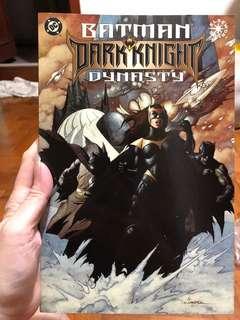 Batman dark knight dynasty 1997