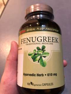 BN Fenugreek supplement (GNC) to boast BM supply