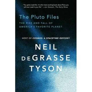 eBook - The Pluto Files by Neil Degrasse Tyson