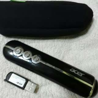 Acer Lazer pointer presentation