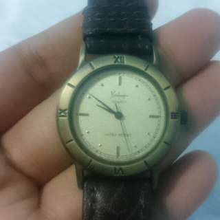 Jam tangan analog second import