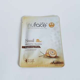 """NuFace - Prominent Essence Facial Mask"" - 9K"