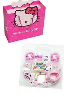 Hello kitty kids hair accessories set