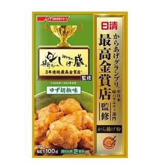 🚚 日清最高金賞 柚子胡椒 炸粉