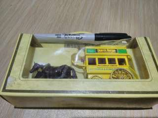 Lledo London Horse Drawn Bus Vintage Diecast