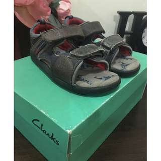 Preloved Clarks Sandals for Boys UK8.5