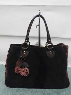 Sale! ALEXANDRA Suede leather bag