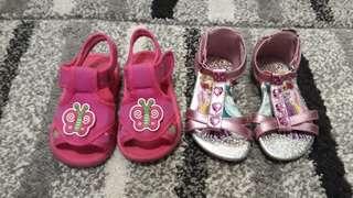 2 Pairs of Sandals