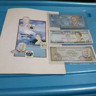 south Pacific notes pack