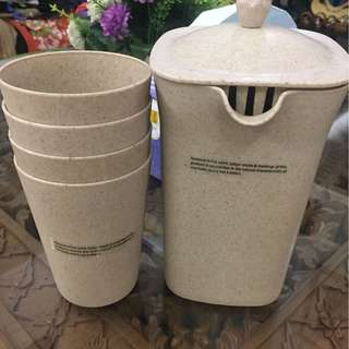 Promotion for this week-Avon Earth Husks natural recyclable biodegradable jug and cups