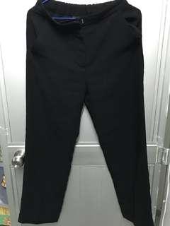 Monki黑色西褲