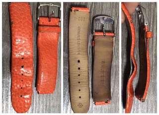 Philip Stein strap orange