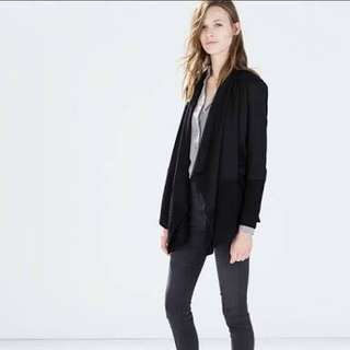 Zara Black Knit Cardigan