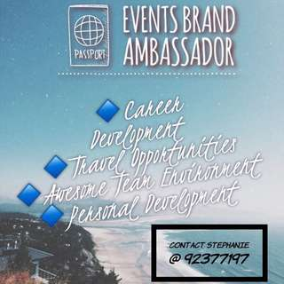Brand Ambassador (Sales & Marketing)