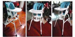 Vivibaby第三代高低兩段式兒童餐椅
