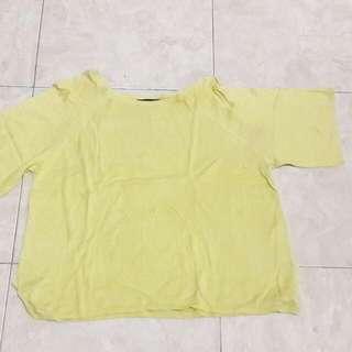 New look yellow sweatshirt