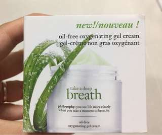 Philosophy Oil Free oxygenating gel cream