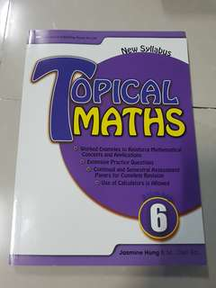 Topical Maths Primary 6