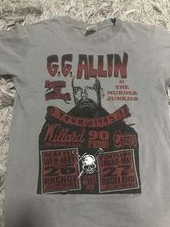 G.G Allin and The Murder Junkies T-shirt