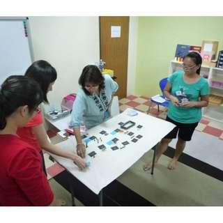 Montessori Basic Introductory - Grammar Workshop - For Parents & Educators