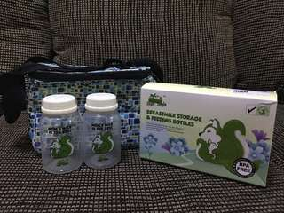 Breastmilk Storage and Feeding Bottles