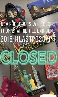 Last PO 20 April 2018. PO closed 21 Apr till end June'18