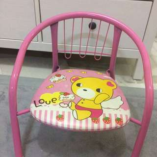 Chair for kids (PINK COLOR)