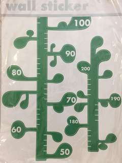 BeanStalk sticker (height measurement)