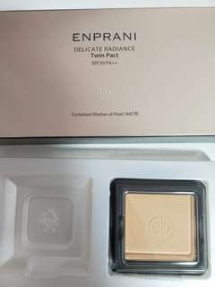 ENPRANI Delicate Radiance Twin Pack power foundation