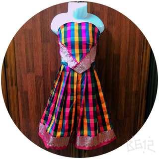 Baby pavadai/skirt blouse