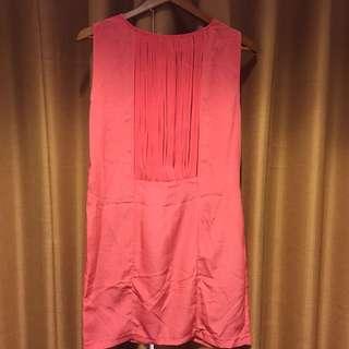 ZARA pink mini dress size L