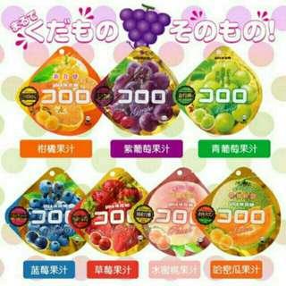 🚚 日本各種味覺糖