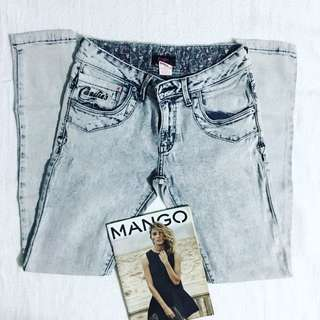 Candie's Acid Wash Jeans