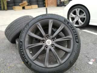 18 inch Original Japan toyota Mark X rim