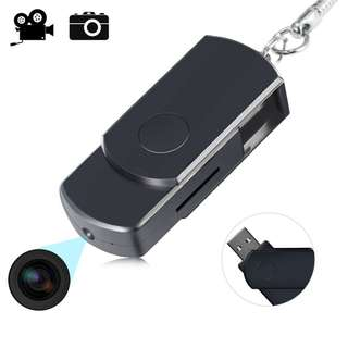 Key Chain Style USB Disk Hidden Camera With Motion Detector