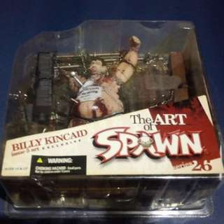 SPAWN BILLY KINCAID - ART OF SPAWN SERIES 26